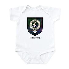 Armstrong Clan Crest Tartan Infant Bodysuit