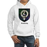 Armstrong Clan Crest Tartan Hooded Sweatshirt