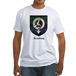 Armstrong Clan Crest Tartan Fitted T-Shirt