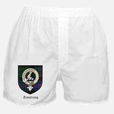 Armstrong Clan Crest Tartan Boxer Shorts