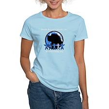 NEW LOGO-MONOCHROME BLUE-NO  T-Shirt
