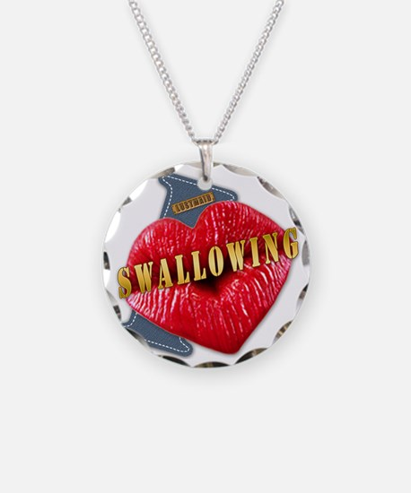 SWALLOWING---I-LOVE Necklace