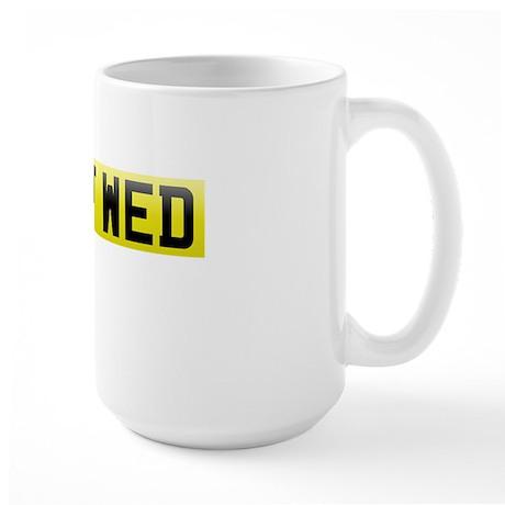 Weddingplate6 Large Mug