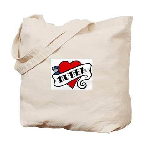 Bubba tattoo Tote Bag