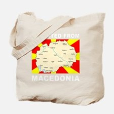 white imported from macedonia Tote Bag