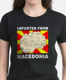 white imported from macedonia Tee