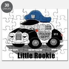 Little Rookie Police Car Puzzle