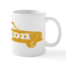 wagaon_yellow Small Mug