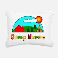 camp nurse Gails Rectangular Canvas Pillow