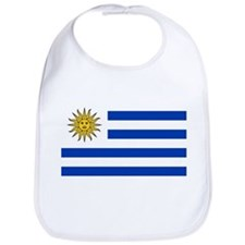 Uruguay Flag Bib