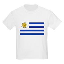 Uruguay Flag Kids T-Shirt