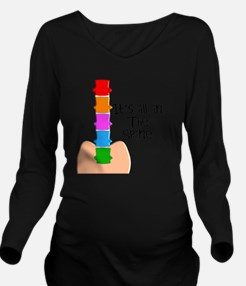 chiropractor 3 all i Long Sleeve Maternity T-Shirt