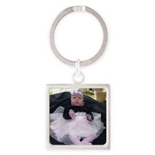 rachael easter 010 Square Keychain