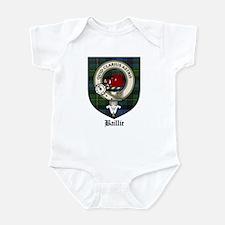 Baillie Clan Crest Tartan Infant Bodysuit