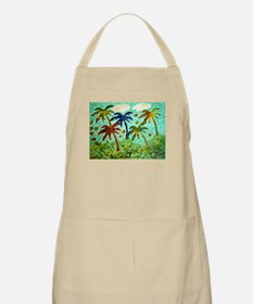 """LIME IN THE COCONUTS"" Barbeque Apron ~ chef chic"