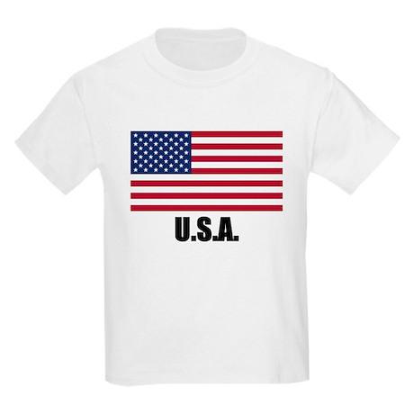 United States Flag Kids T-Shirt