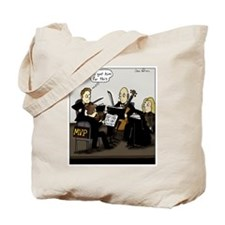 Cute String quartets Tote Bag