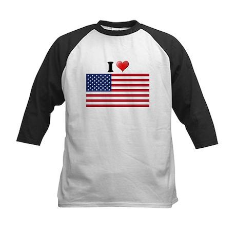 I love USA Kids Baseball Jersey