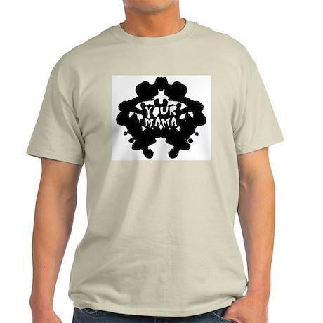Subliminal Inkblot Ash Grey T-Shirt