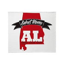 Sweet Home-2 Throw Blanket