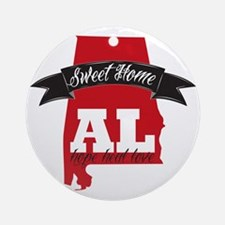 Sweet Home-2 Round Ornament