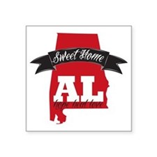 "Sweet Home-2 Square Sticker 3"" x 3"""