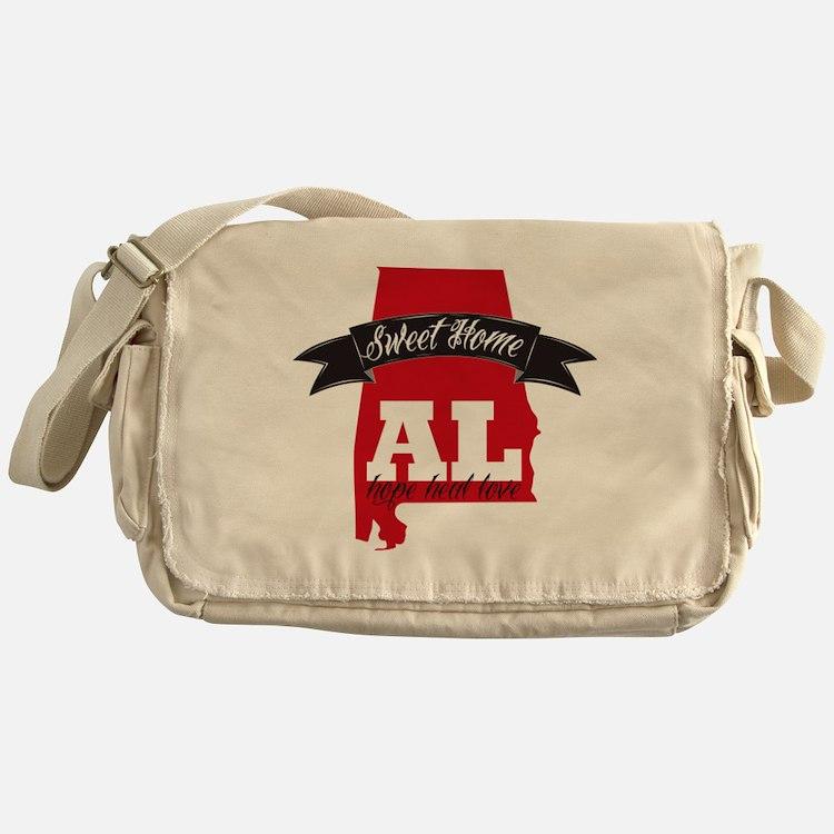Sweet Home-2 Messenger Bag