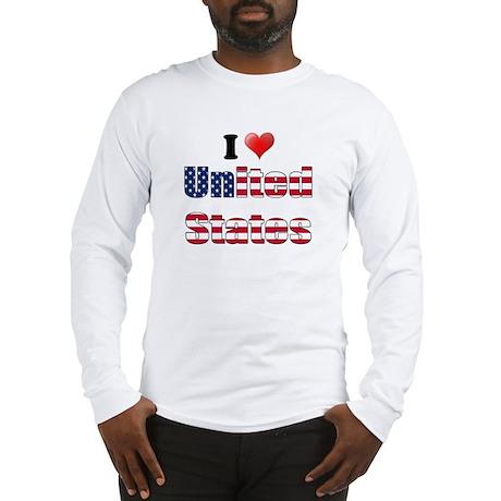 I love United States Long Sleeve T-Shirt