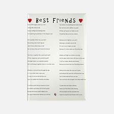 BestFriends-TX Rectangle Magnet