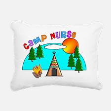 camp nurse 4 Rectangular Canvas Pillow