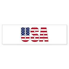 USA Bumper Bumper Sticker