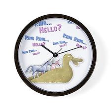 Charlie-D20-WhiteApparel Wall Clock