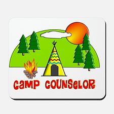 camp counselor 1 Mousepad