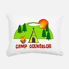camp counselor 1 Rectangular Canvas Pillow