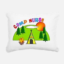 camp nurse 5 Rectangular Canvas Pillow
