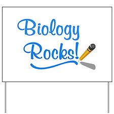Biology Rocks Yard Sign