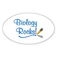 Biology Rocks Decal
