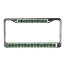 Celtic Spirals License Plate Frame