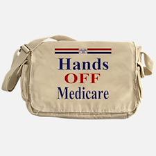 Hands OFF Medicare T-Shirt rwb Tshir Messenger Bag