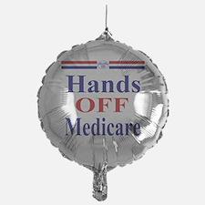 Hands OFF Medicare T-Shirt rwb Tshir Balloon