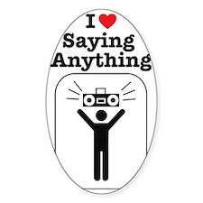sayinganything Decal