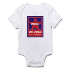 Gene Chapman for president (s Infant Bodysuit