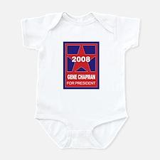 Gene Chapman for president (s Infant Bodysuit