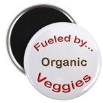 """Fueled by Organic 2.25"""" Magnet (10 pack)"""