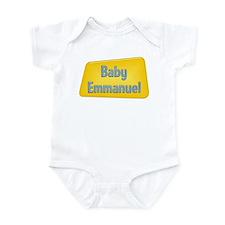 Baby Emmanuel Infant Bodysuit