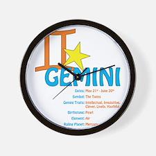 geminidetail2 Wall Clock