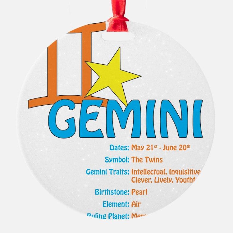 geminidetail2 Ornament