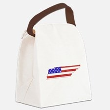 Tennessee Flag Canvas Lunch Bag