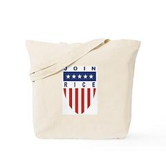 Join Condoleeza Rice Tote Bag