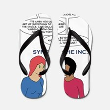 unemployed 2 Flip Flops